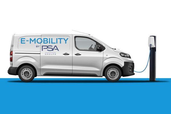 PSA apuesta por las furgonetas eléctricas