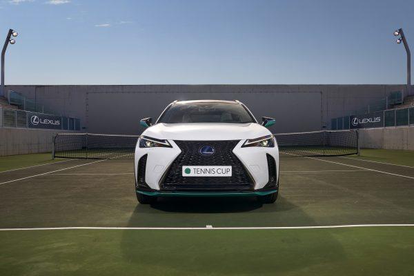 Lexus lanzará el híbrido Lexus UX 250h diseñado para la Copa Davis