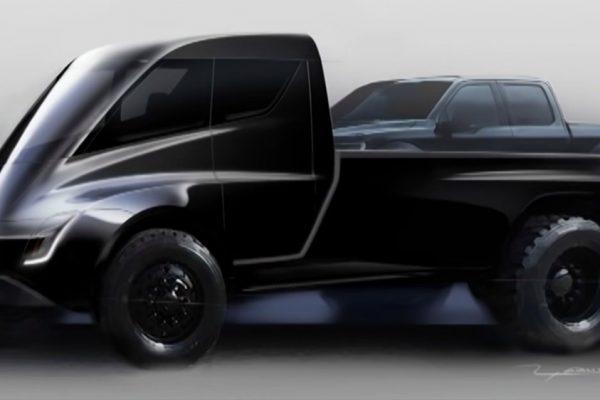 Tesla y el misterio de la pickup inspirada en Blade Runner
