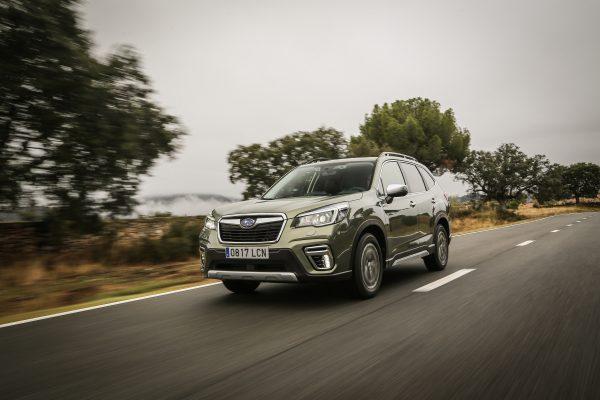 El Subaru Forester Eco Hybrid premiado por su seguridad