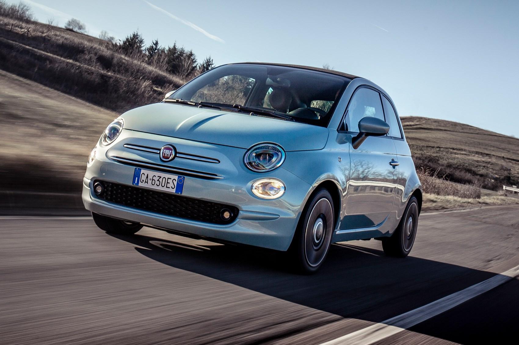 Foto Fiat 500 Hybrid