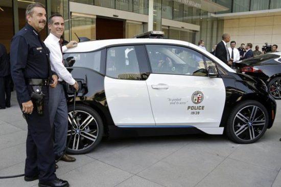 Flota de BMW i3 para la policía de Los Ángeles