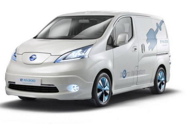 La Nissan e-NV200 hará su debut en 2014