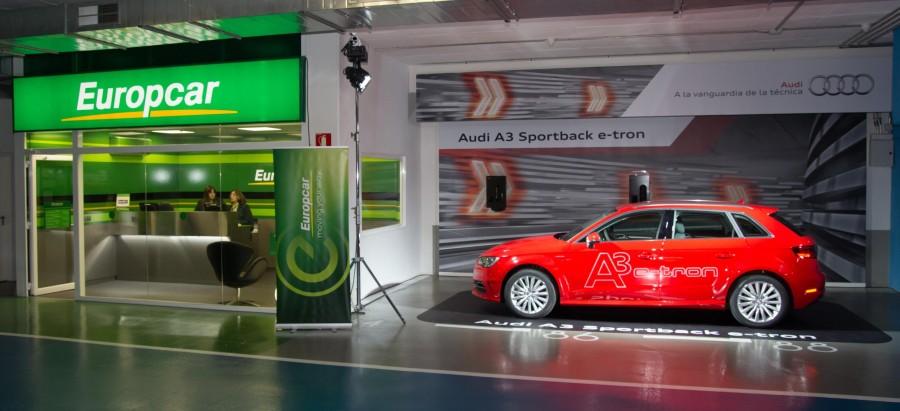 Audi entrega diez A3 e-tron a Europcar