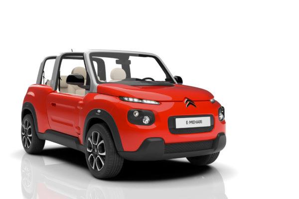 Citroën E-Méhari: Electrón Libre