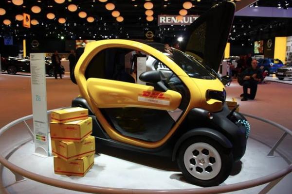 Renault elige Bruselas para presentar el nuevo Twizy Cargo