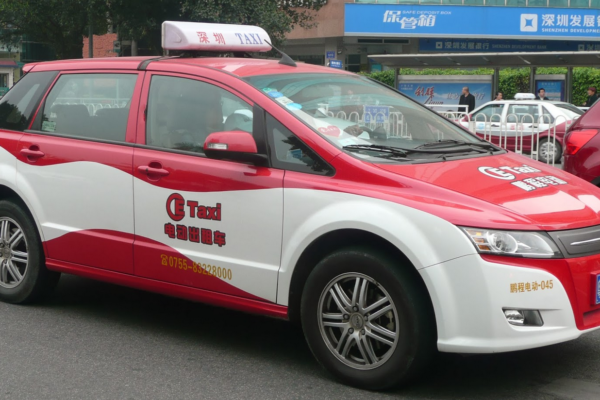 El BYD E6 será el nuevo modelo de taxi eléctrico en Londres