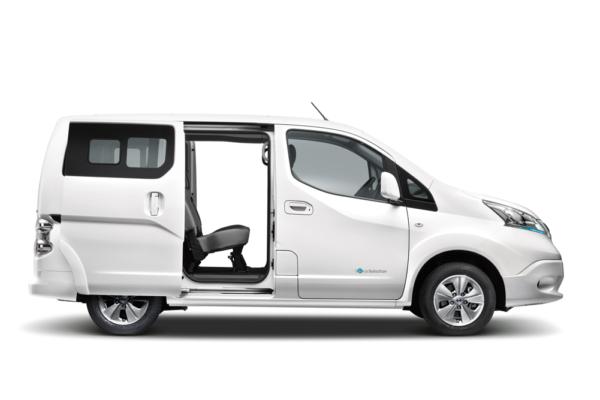 Nissan presenta su nueva furgoneta eléctrica e-NV200 en el Salón de Ginebra