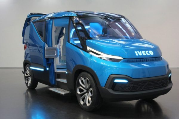 """IVECO muestra una """"concept van"""" en Hanover"""