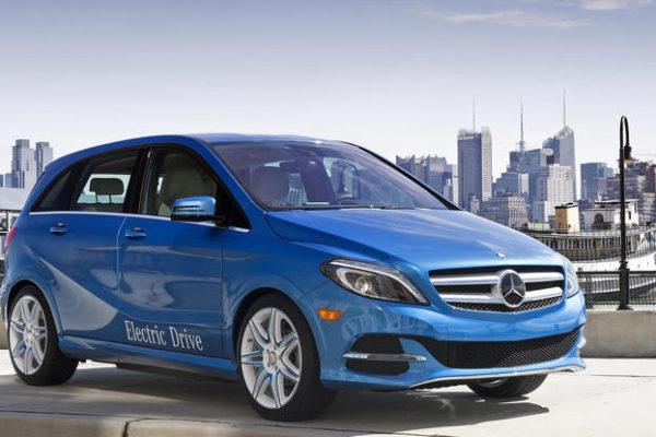 El Mercedes-Benz Clase B Electric Drive en la cola de la eficiencia energética