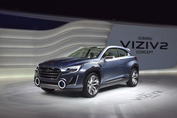 Subaru Viziv-2 concept, híbrido enchufable presentado en el Salón de Ginebra