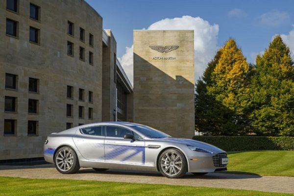 El primer Aston Martin eléctrico llegará en 2019