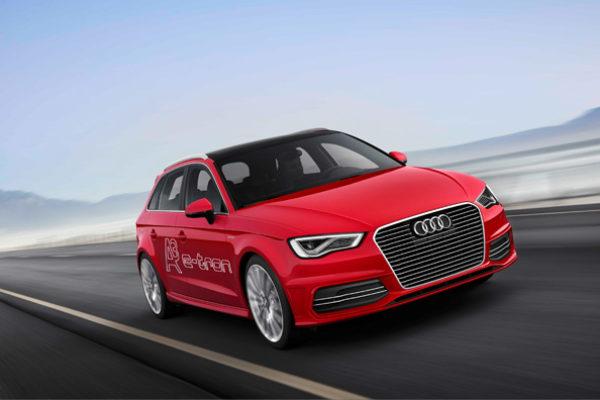 Audi A3 e-Tron con recarga libre de emisiones en Alemania