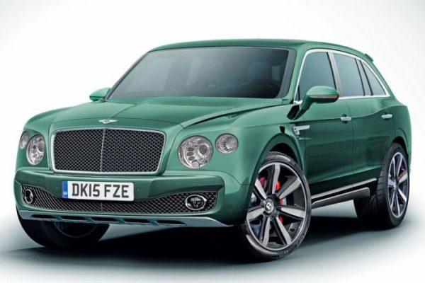 Bentley lanzará una versión híbrida enchufable de su modelo SUV en 2017
