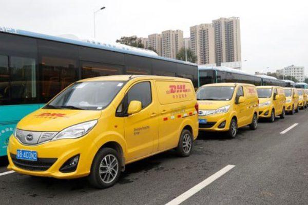 DHL contará con 35 furgonetas eléctricas BYD