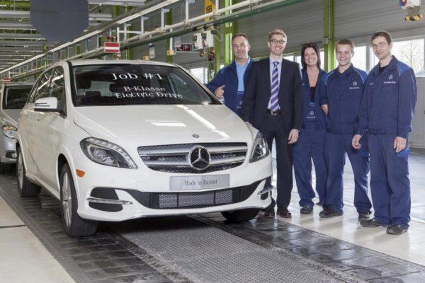 Mercedes-Benz inicia la producción del Clase B eléctrico