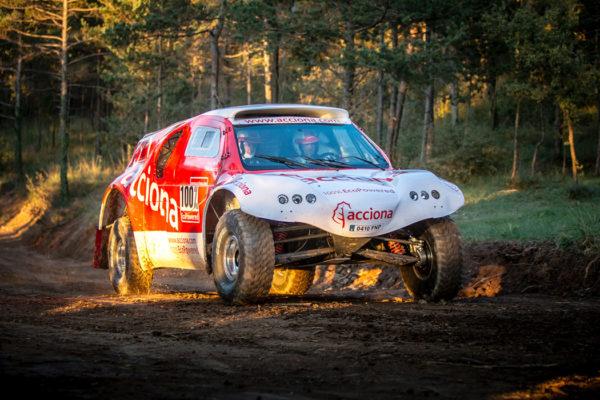 El coche eléctrico del Dakar