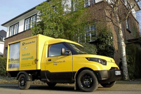 Deutsche Post y Ford unidos por la movilidad eléctrica