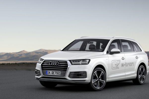Audi presenta el Q7 e-tron 3.0 TDI quattro su primer híbrido enchufable con motor diesel