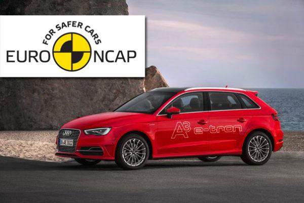 Cinco estrellas Euro NCAP para el Audi A3 Sportback e-tron