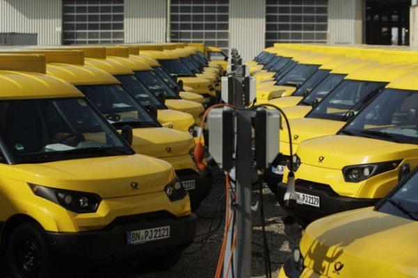 DHL tiene su propia furgoneta eléctrica