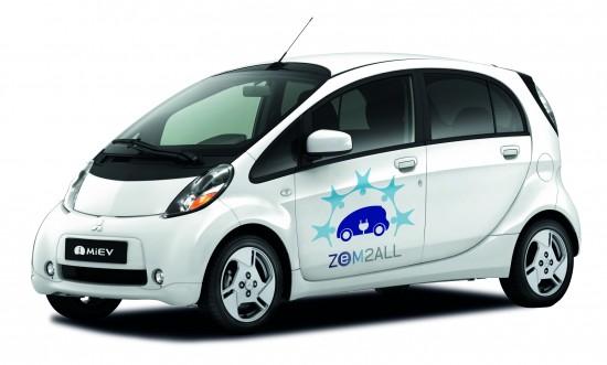 Ya están entregados también los primeros vehículos eléctricos iMiev de los 200 en total que circularán por las calles de Málaga.