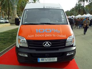 maxus ev80 furgoneta eléctrica 3500 kg