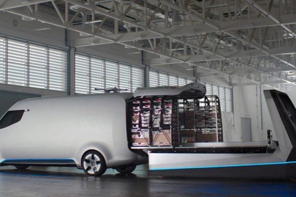 Mercedes-Benz Vision Van, el repartidor del futuro