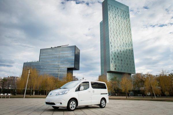 Nissan presenta la e-NV200 de 40 kWh