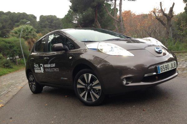 Prueba Nissan Leaf 30 kWh