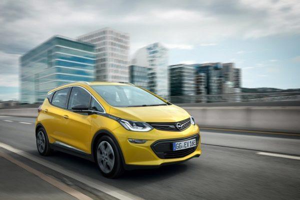 Opel Ampera-e, con más de 500 kilómetros de autonomía