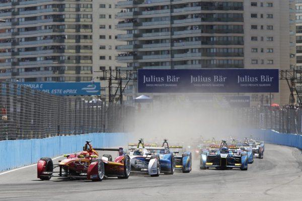 Tercera carrera de la Fórmula E en Punta del Este