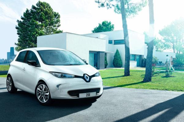Renault ZOE-i con baterías en propiedad en Reino Unido