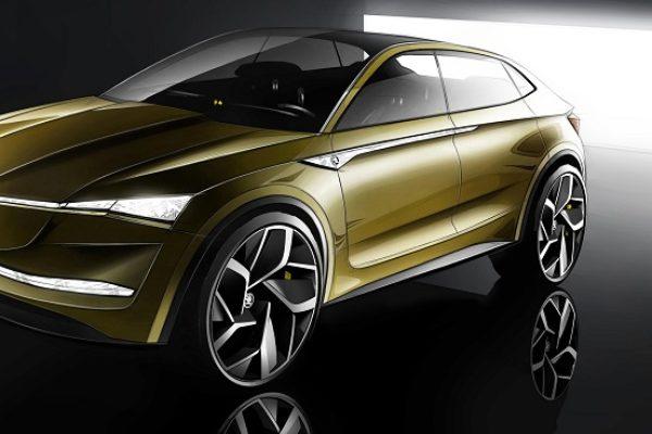 Skoda Vision E Concept, preparado para 2020