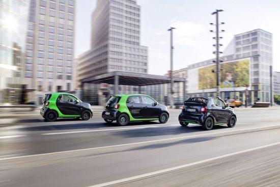 Smart solo venderá modelos eléctricos en todo el mundo a partir de 2020