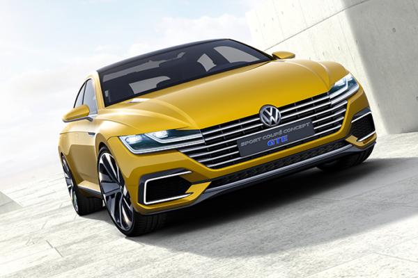 Volkswagen presenta el nuevo Sport Coupé Concept GTE en el salón de Ginebra