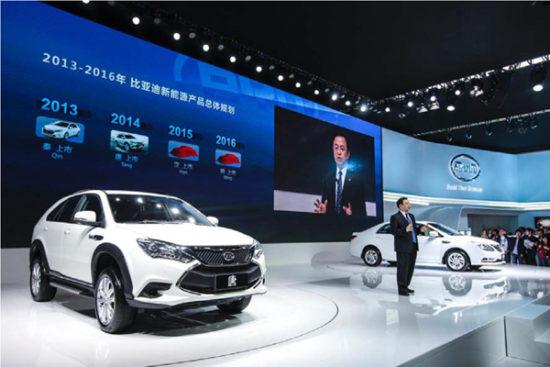 BYD lanza un SUV eléctrico de altas prestaciones