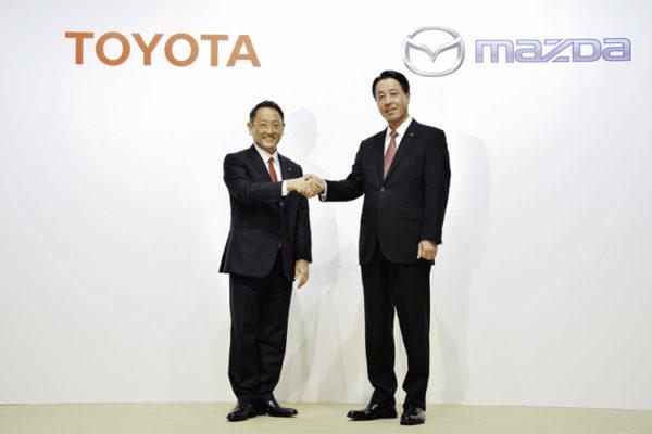 Toyota y Mazda unen fuerzas para el desarrollo del coche eléctrico