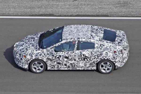 Chevrolet prepara la nueva generación del Volt